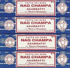 ...Nag Champa. Premium scent-to-good-memory association. Instant comfort.
