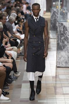 35b8c528c93 See the complete Thom Browne Spring 2018 Menswear collection. Mens Fashion  2018