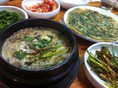 eel soup -