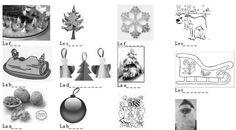 En faisant réutiliser plusieurs fois le vocabulaire, cet exerice permet de mémoriser en s'amusant le lexique de Noël. J'ai élaboré ce jeu pour des élèves en 2 année de français (7. Klasse). 1 Quel nom pour quelle image? BARBE BONNET BOUGIE BOULE BÛCHE...