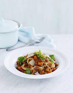Spaghetti Bolognese (healthy - 2 serve recipe)