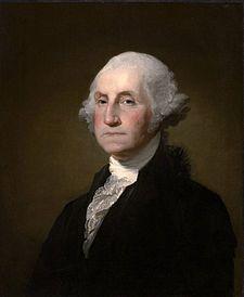 George Washington, primo presidente degli Stati Uniti dal 1789 - 1797
