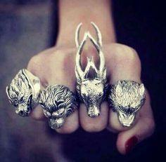 wolfbound, lionmane, deerhorn, dogling
