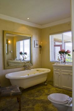 The beautiful Bathroom of the Beach Suite! Beach Villa, Beautiful Bathrooms, Clawfoot Bathtub, Corner Bathtub, Luxury, Interior, Corner Tub, Design Interiors, Interiors