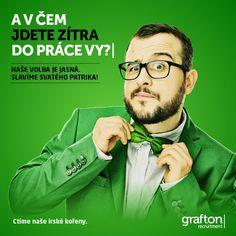 Již zítra oslavy sv. Patrika! Máte připravený zelený doplněk? #colour #green #stpatricksday Twitter