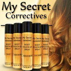 My Secret Correctives Root Touch-Up Spray 2oz Beige Blonde