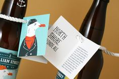 Beer label package design