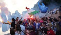 'Tifiamo tutti i tifosi': Snai invade Roma e Milano durante Italia-Irlanda