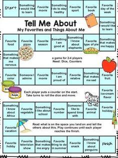 Group Therapy Activities, Mutual Activities, Social Skills Activities, Counseling Activities, Fun Activities For Kids, School Counseling, Get To Know You Activities, First Day Of School Activities, Activity Day Girls