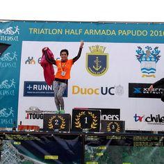 Felicitamos a nuestra socia Carmen Gloria Ponce por obtener el segundo lugar en su categoría en el Triatlón de Papudo en 1/4 de Iron Man
