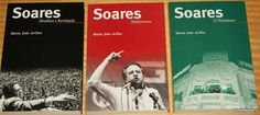 This three volume collection recounts the career of Mario Soares, the former President of Portugal Portugal, Former President, Presidents, Mario, Career, Books, Collection, Carrera, Libros