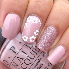 Our favorite nail designs, tips and inspiration for women of every age! Great gallery of unique nail art designs of 2017 for any season and reason. Find the newest nail art designs, trends & nail colors below. Cute Simple Nails, Pretty Nails, Perfect Nails, Simple Nail Designs, Nail Art Designs, Pretty Designs, Nail Designs For Toes, Nail Art Flowers Designs, Nails Polish