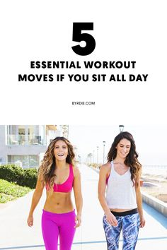 The best workout moves for people who sit all day