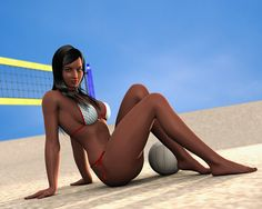 Day at rhe beach revisited | por Jotaerre3D