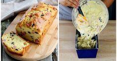 Herzhafter Kuchen mit Schinken und Oliven - so geht's