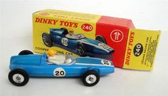 Annons på Tradera: DINKY TOYS ... COOPER RACING CAR