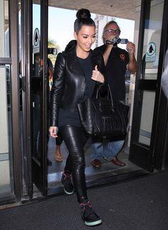 Kim Kardashian, June 2012 (Nike Air Yeezy 2)