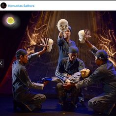 Letters to the Sky by papermoon puppet theatre 2014