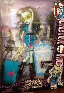 Monster High Scares Frankie Stein New Doll in Box   eBay