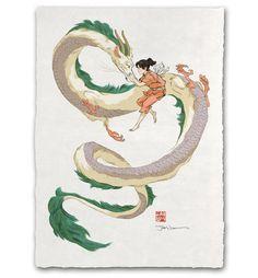 'Guardian Spirit' Giclée Print – Ukiyo-e Heroes