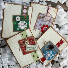 Krista's Paper Cafe  Christmas Card Set