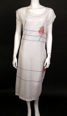 ca 1924 day dress