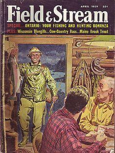 4 1959 Field Stream Magazine | eBay