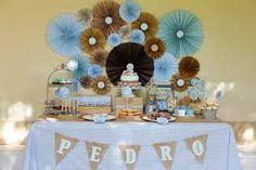 Resultado de imagen para decoracion de tortas para bautizo de niño