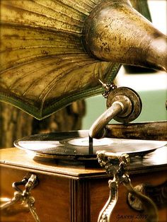 This gramophone would be a true vintage treasure