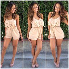 Tink-Her-Belle Romper - $27.99 #FashionNova #Trending