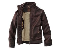 With rugged, authentic good looks, our Stratham Leather Bomber has been a customer favorite for years. For this season we've updated this classic jacket with a funnel neck and extra zip pockets, but kept the slim, masculine silhouette and warm, rustic colors. The rich, smooth leather will get softer with age and gradually learn the contours of your arms and shoulders to provide an almost customized fit. Imported.