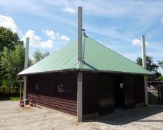 Hooibergen - Houtstaal, hooiberg constructies