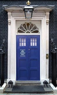 TARDIS front door=perf