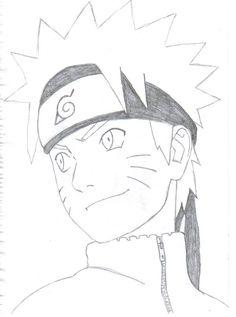 naruto easy anime drawings drawing pencil draw shippuden sketch cool dessin kakashi hinata manga sketches desenho coloriage deviantart dibujos desenhos