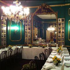 The 'Rex Room' at Antoine's (NOLA)