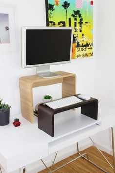 Quick and free ways to convert an existing desk into a standing desk