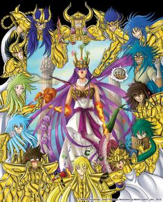 Saint Seiya - The Lost Canvas :-)