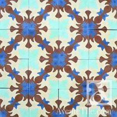 Knoxtile In Dallas TX Imports And Distributes Aguayo Tiles, The Premier Supplier Of Cement Tile And Encaustic Flooring Solutions. Painting Ceramic Tiles, Cement Tiles, Design Fields, Yard Design, Hand Painted Ceramics, Tile Patterns, Dallas, Traditional, Handmade