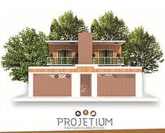 Galeria de projetos de arquitetura e engenharia civil desenvolvidos pela projetium engenharia, situada na cidade de Franca SP. Projetos em geral.