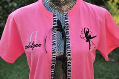 Dance Recital Costume Cover-Up by EmbroiDeLisDesigns on Etsy