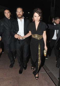 Tom Hardy and Charlotte Riley <3