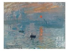Impression: Sunrise, 1872 Giclee Print by Claude Monet at Art.com