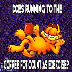 Garfield Quotes, Garfield Cartoon, Garfield And Odie, I Love Coffee, Best Coffee, Coffee Quotes, Coffee Humor, Funny Good Morning Quotes, Funny Quotes