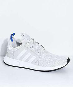 low priced 850ae e6579 adidas Xplorer Core Light Grey, Blue and White Shoes