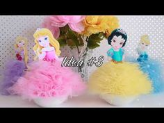7 Ideas de Princesas de Disney Babies | 7 Baby Disney Princess Diys - YouTube