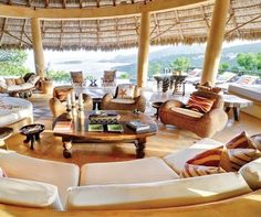YEMANJA HOUSE | Mustique, St Vincent and the Grenadines - tropical - living room - other metro - REAL LIFE Caribbean