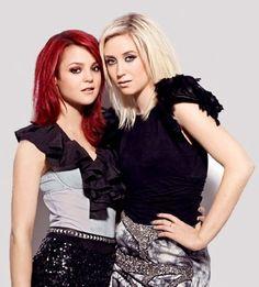 Kathryn Prescott and Lily Loveless