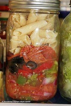 Mason Jar Salad Recipes For A Week
