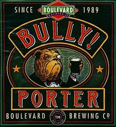Bully Porter product of Boulevard Brewing Co.