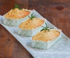 Bizcochos de romero y miel - Rosemary and honey cake